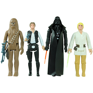 Luke Skywalker Classic Edition 4-Pack