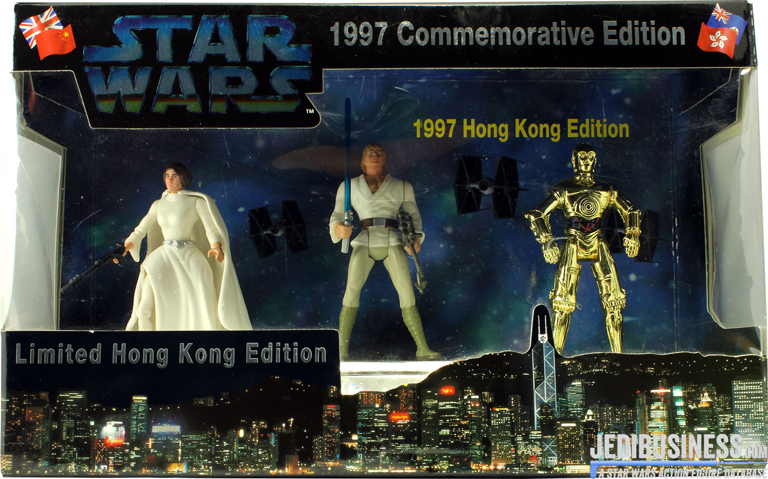 Princess Leia Organa Hong Kong Edition I 3-Pack