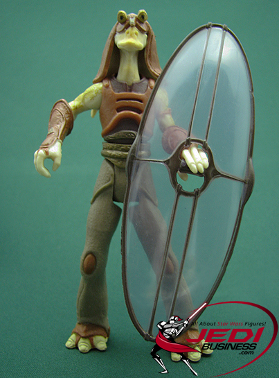 Gungan Warrior figure, POTJ