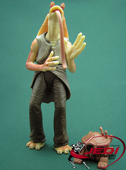 Jar Jar Binks figure, POTJ