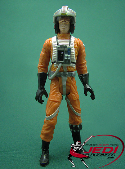 Luke Skywalker figure, POTJ