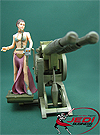 Princess Leia Organa With Jabba's Sail Barge Cannon Power Of The Jedi