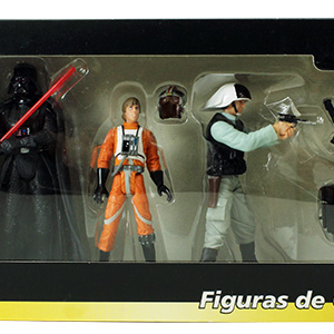 Luke Skywalker Figuras de Coleccion 4-Pack