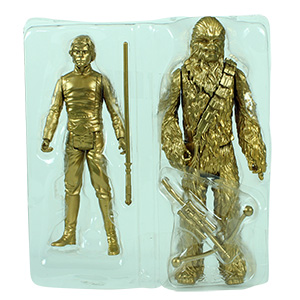 Luke Skywalker Episode VI 2-Pack With Chewbacca