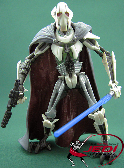 Star Wars General Grievous Toys : General grievous figure battle of coruscant the saga