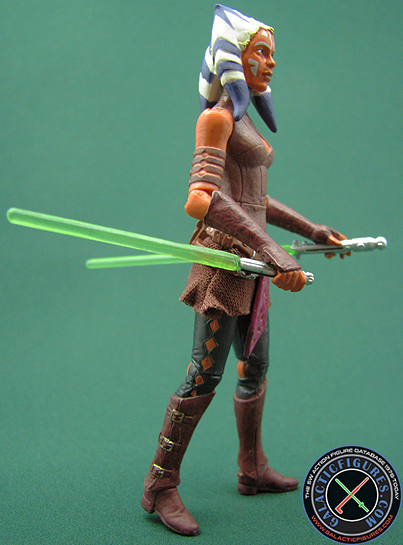 Star Wars Figure Comparison Ahsoka Tanotvc