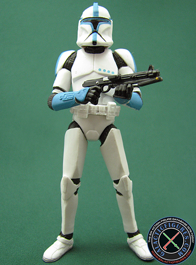 Clone Trooper Lieutenant figure, TVCBasic