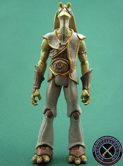 Gungan Warrior figure, TVC