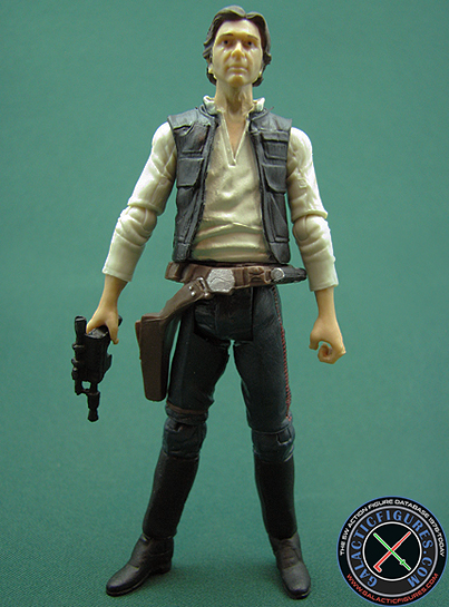Han Solo figure, TVC3-pack