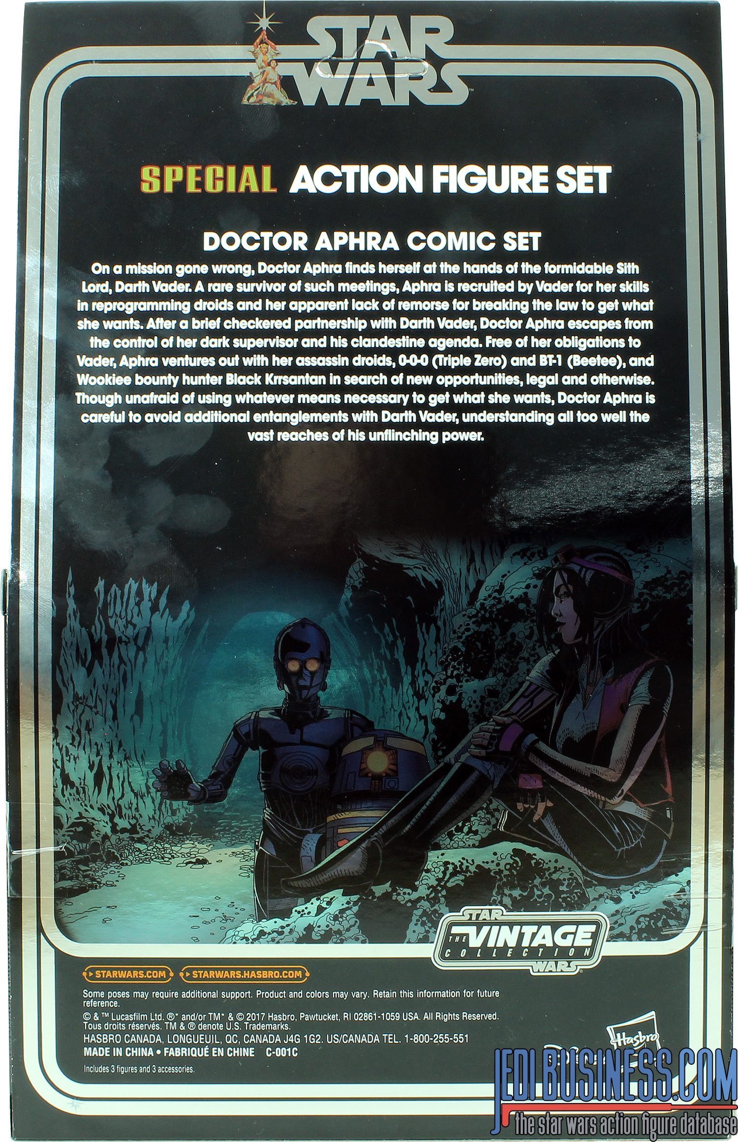 0-0-0 Doctor Aphra Comic Set 3-Pack