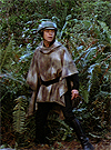 Luke Skywalker In Battle Poncho Vintage Power Of The Force