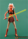 Ahsoka Tano, with Rotta The Hutt figure