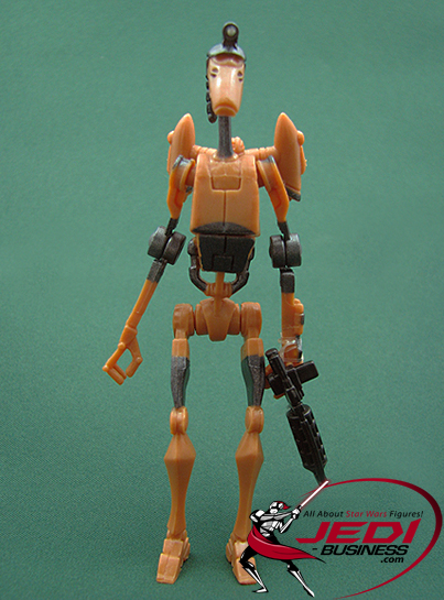 Rocket Battle Droid Firing Boarding Claw