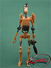 Rocket Battle Droid, Firing Boarding Claw figure