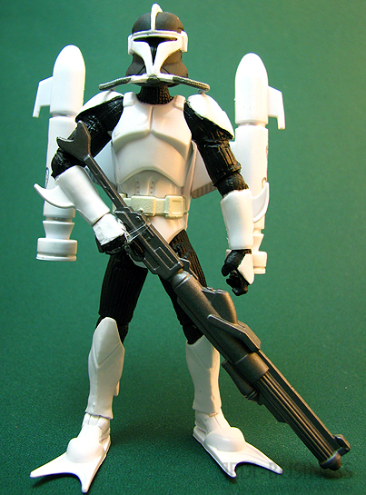 Clone Scuba Trooper figure, TLC