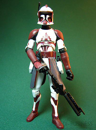Commander Fox figure, TCWSpecial