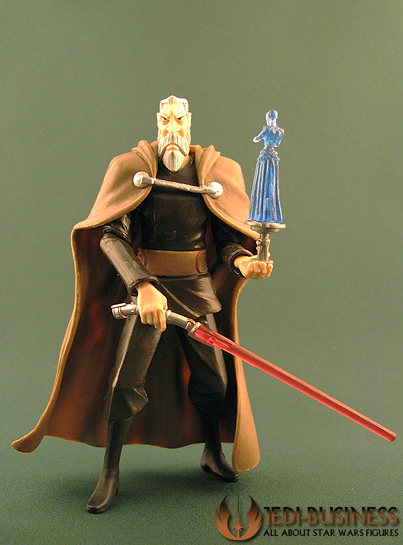 Count Dooku figure, TCW
