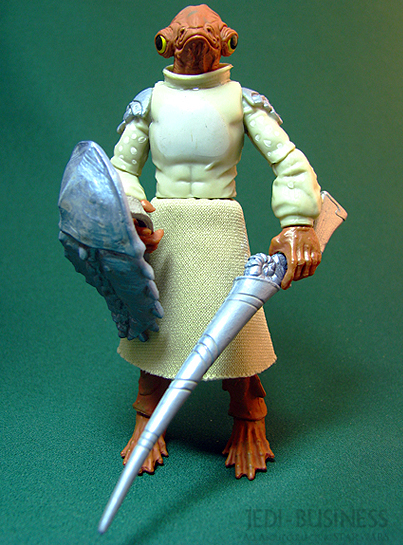 Mon Calamari Warrior figure, TLC