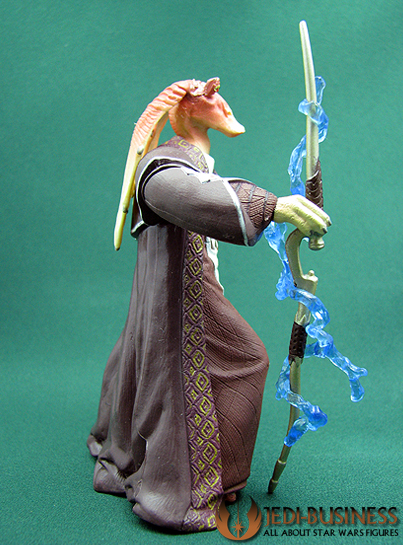 Jar Jar Binks Gungan Senator Star Wars SAGA Series