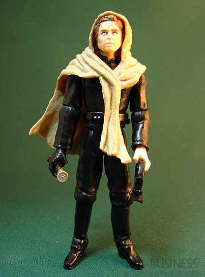 Luke Skywalker figure, TLC