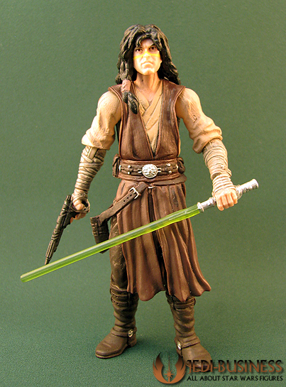 Quinlan Vos figure, TLCComic2-pack