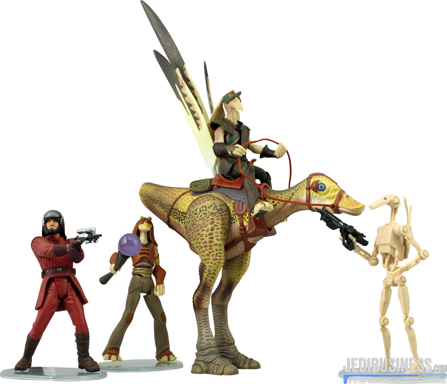 Naboo Royal Guard Naboo Final Combat 4-Pack
