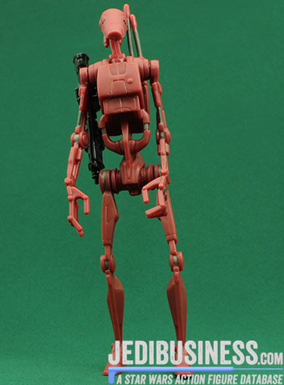 Battle Droid figure, SAGADeluxe