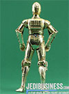 C-3PO Tatooine Ambush Star Wars SAGA Series