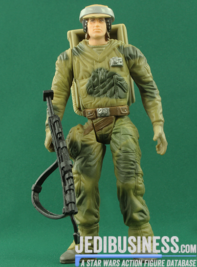 Endor Rebel Soldier figure, SAGASpecial