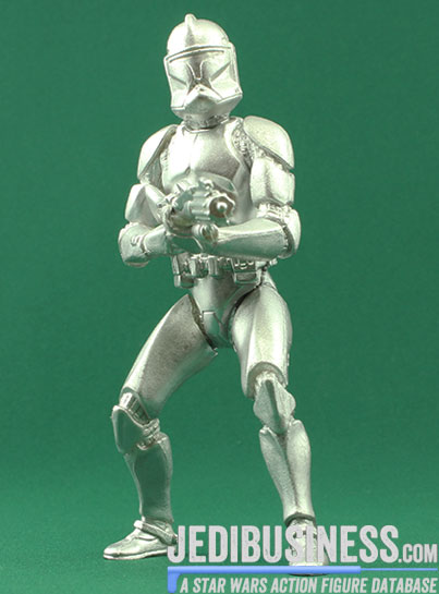 Clone Trooper figure, SAGASilver
