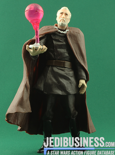 Count Dooku figure, SAGAScreenScene