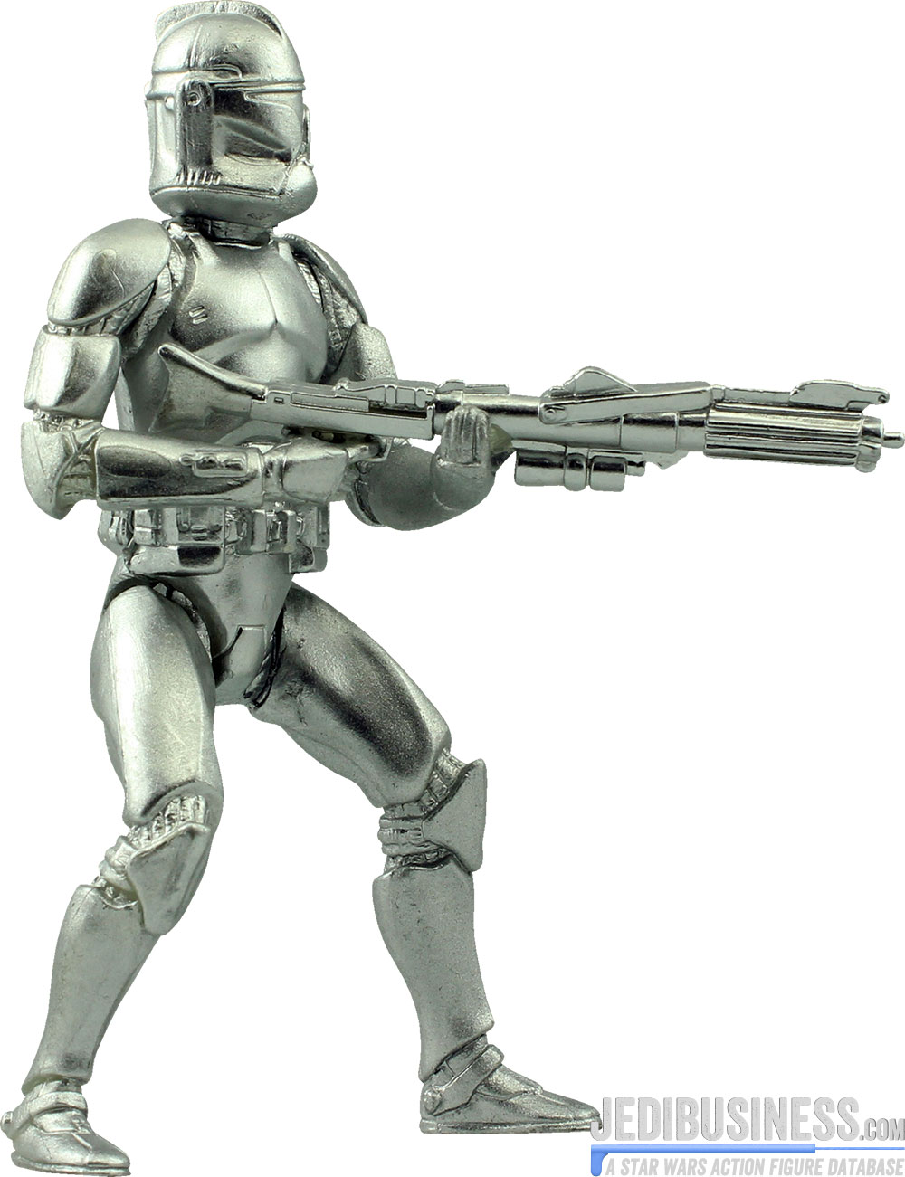 Clone Trooper Silver Edition