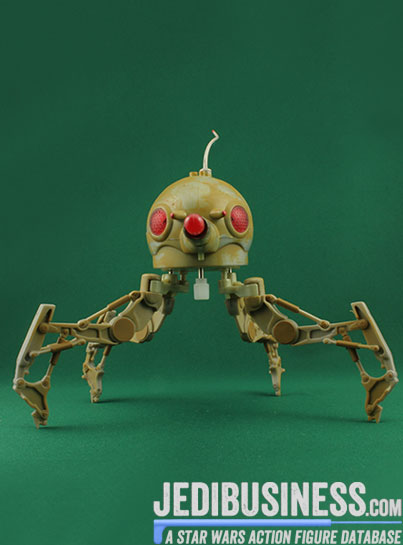 Spider Droid figure, SAGADeluxe