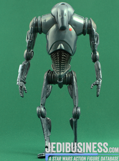 Super Battle Droid figure, SAGA