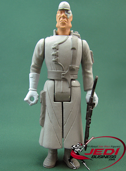 Admiral Screed figure, VintageDUnproduced