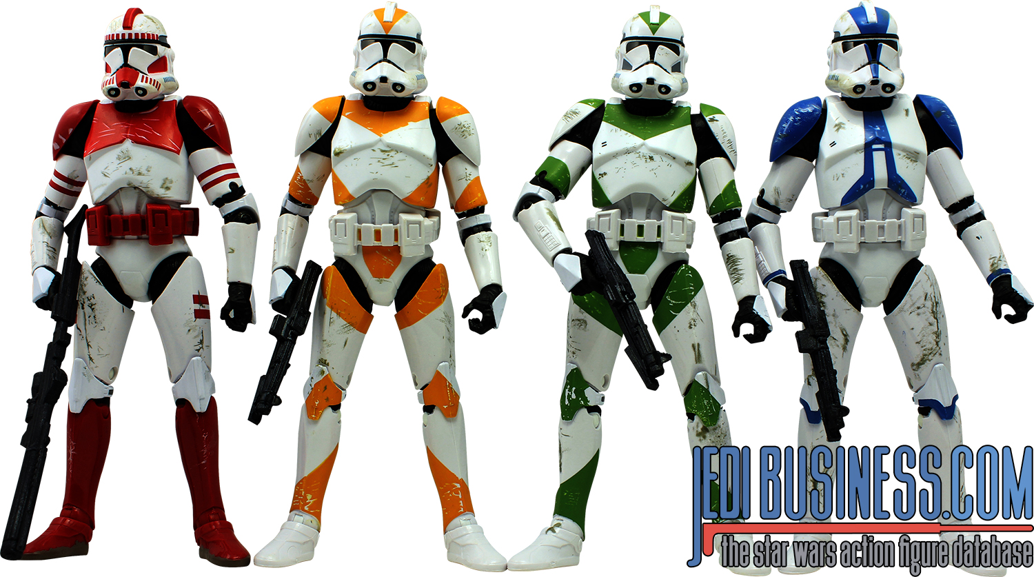 Clone Trooper, Clone Troopers Of Order 66 4-Pack