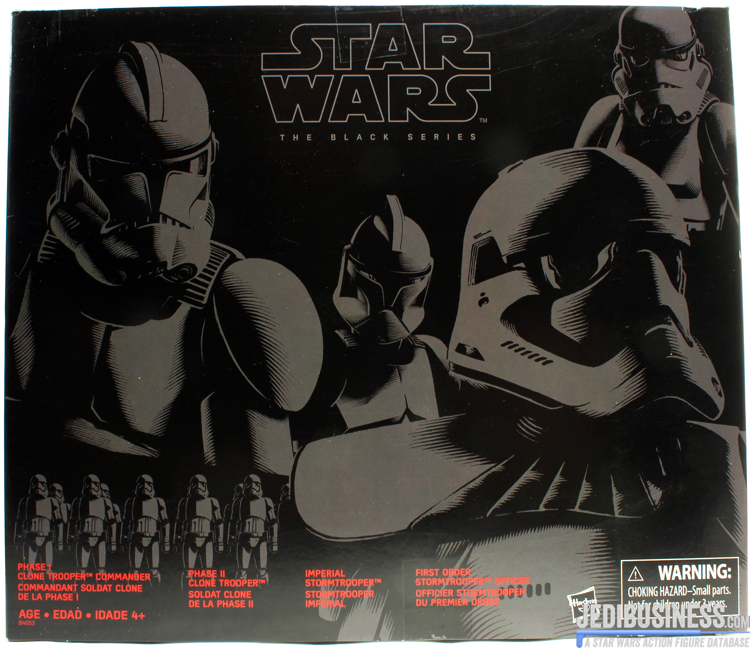 Clone Trooper, Amazon 4-Pack