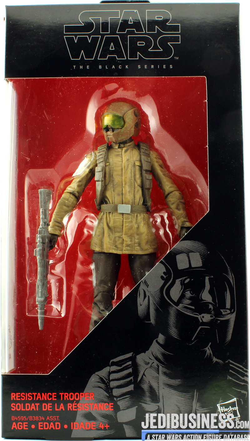 Resistance Trooper The Force Awakens
