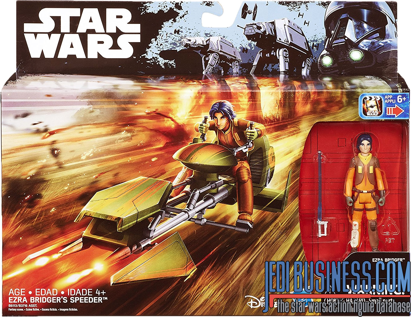 Ezra Bridger, With Ezra Bridger's Speeder