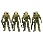 Endor Rebel Soldier Endor Troop Builder Set 4-Pack