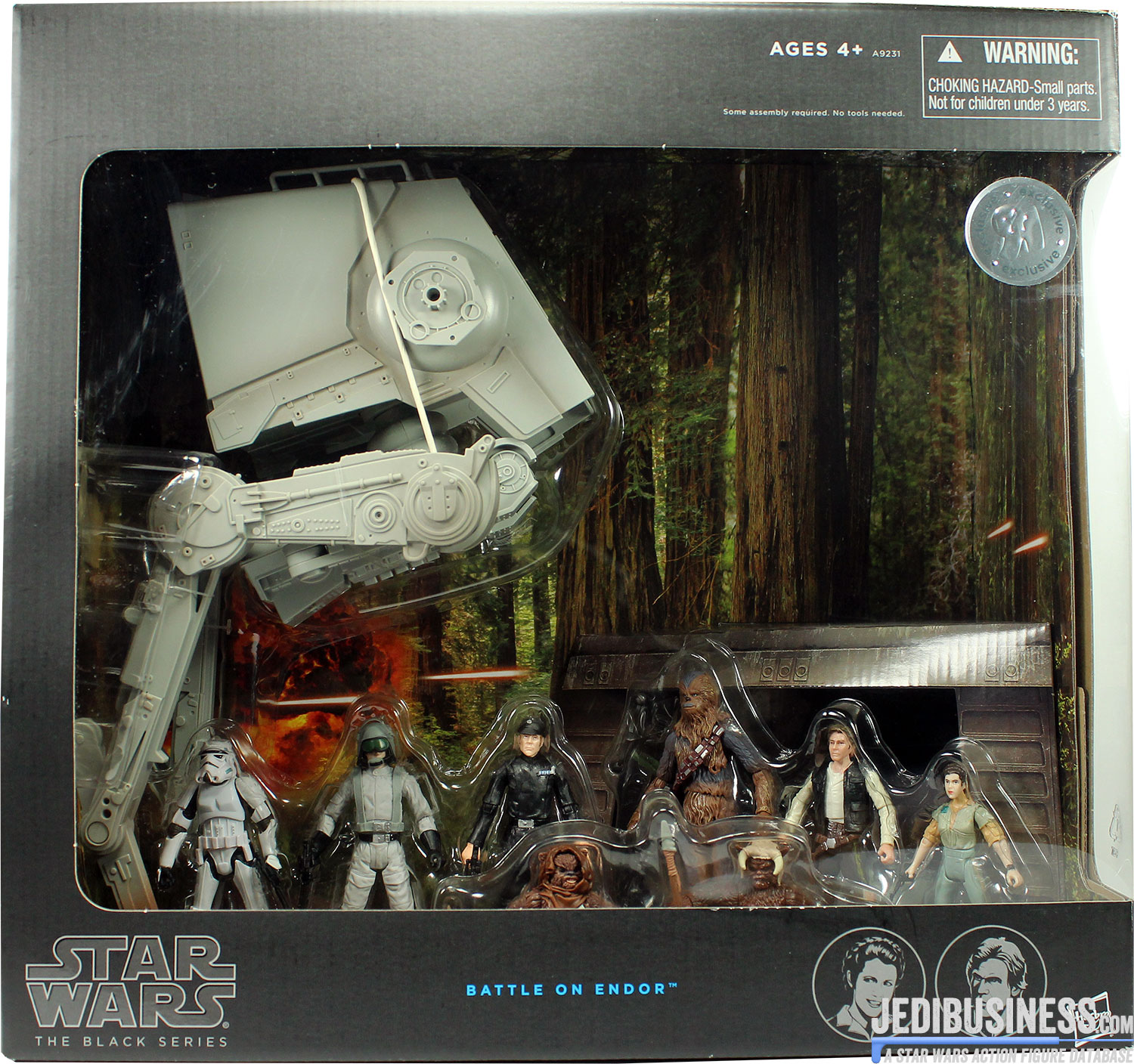 Stormtrooper Battle On Endor 8-Pack
