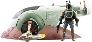 Boba Fett With Slave I Vehicle