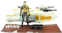 Kanan Jarrus With Y-Wing Scout Bomber