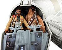 Finn With Millennium Falcon