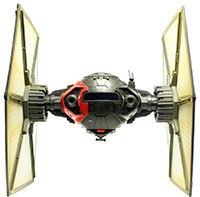 Tie Fighter Pilot With First Order Special Forces Tie Fighter (Jakku)