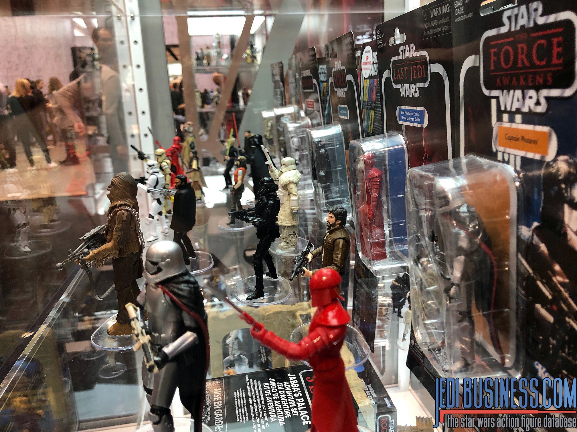 The Hasbro Booth @ Star Wars Celebration Chicago 2019