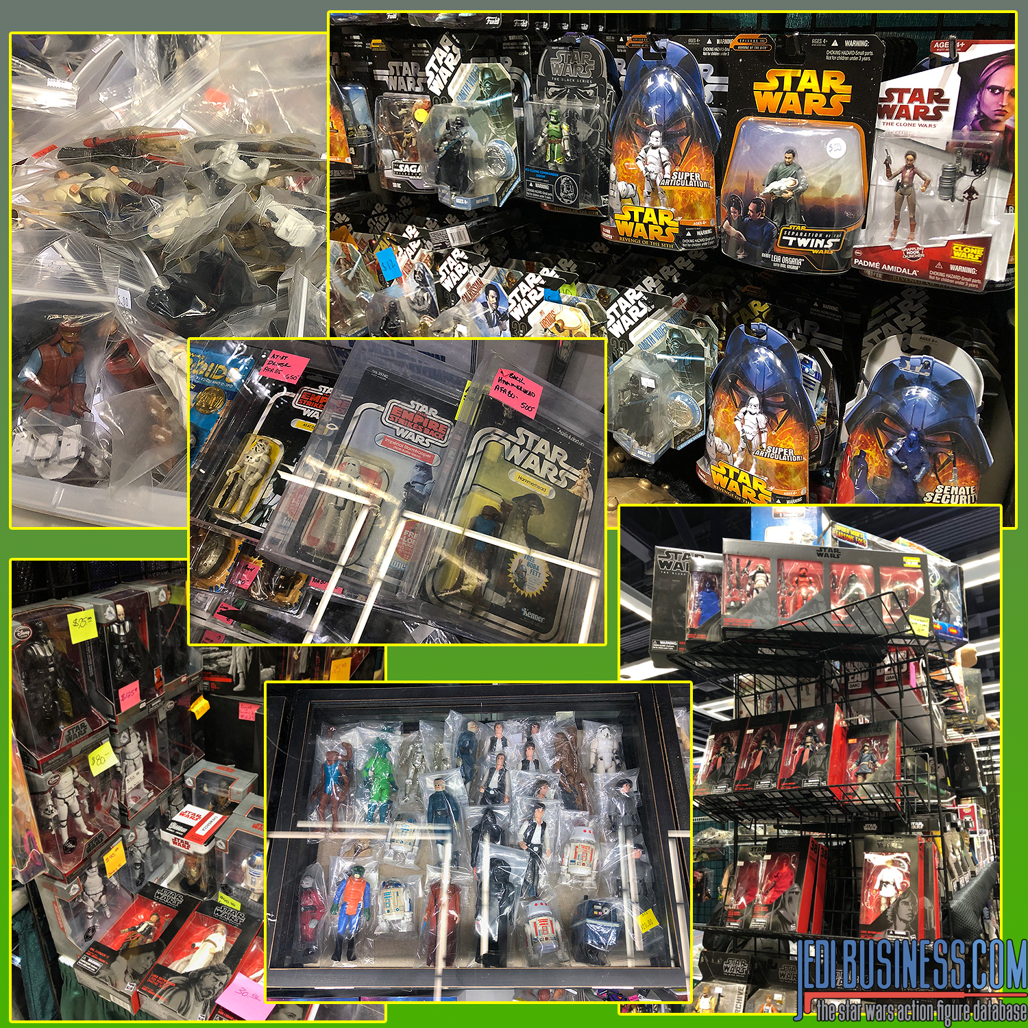 Star Wars Figures At ECCC 2019
