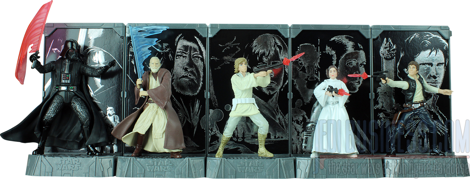 Star Wars Titanium Action Figures