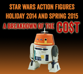Star Wars Action Figures Holiday 2014