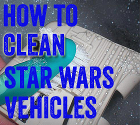Clean Star Wars Toys